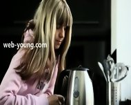 Seductive Blonde With Fluent Fingers - scene 1