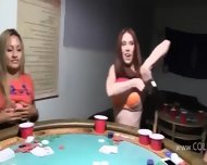 Young Girls Loving On Poker Night - scene 4