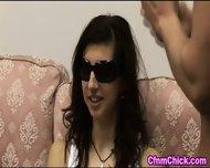 Blind Clothed Babe Stroke - scene 1