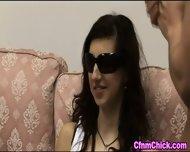 Blind Clothed Babe Stroke - scene 2