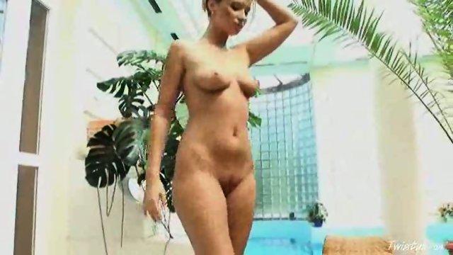 Roxy Carter stroking 2