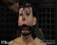 Slave Gets Ardous Caning - scene 4
