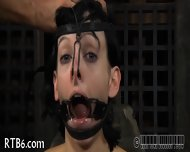 Slave Gets Ardous Caning - scene 5