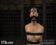 Slave Gets Ardous Caning - scene 6
