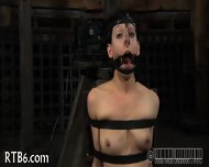 Slave Gets Ardous Caning - scene 7