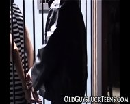 Teen Fingered By Old Guy - scene 2