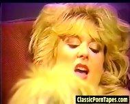 Horny 80s Lesbian Vintage Porn - scene 4