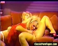 Horny 80s Lesbian Vintage Porn - scene 7