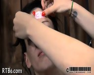 Painful Clamping For Beauty S Tits - scene 11