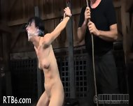 Painful Clamping For Beauty S Tits - scene 5