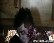 Gothic Zombies Suck Cock - scene 3