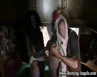 Gothic Zombies Suck Cock - scene 4