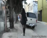 Pornstar Goth Sucks Pov - scene 1