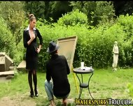 Pissed On Outdoor Babes - scene 1