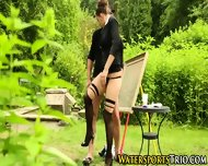 Pissed On Outdoor Babes - scene 6