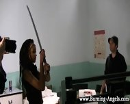 Black Emo Babe Fingers - scene 10