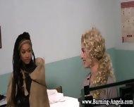 Black Emo Babe Fingers - scene 11