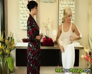 Masseuse Scissors Client - scene 4