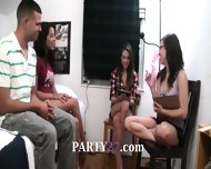 Teen Girls Playing With Vibrator Dick - scene 10