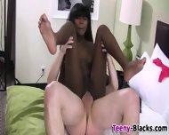 Sexy Ebony Teen Fucked - scene 6