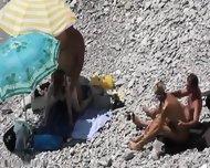 Beach Voyeur Couple Fucking - scene 12
