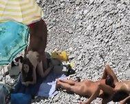 Beach Voyeur Couple Fucking - scene 2