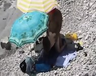 Beach Voyeur Couple Fucking - scene 6