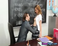 Blowing High School Teen - scene 2
