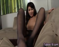 Asian Step Teen Strokes - scene 2