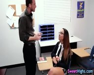 Black Student Teen Suck - scene 3