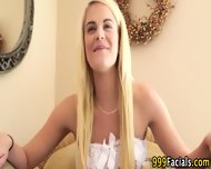 Pov Blonde Facialized - scene 2