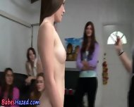 Amateur Teen Sucks Dildo - scene 3
