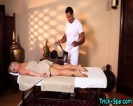 Blonde Stunner Massaged - scene 9