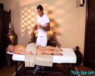 Blonde Stunner Massaged - scene 11