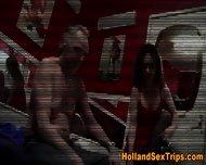 Euro Hooker Creampied - scene 1