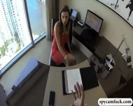Sexy Latina Teen Secretary Gets Fucked Hard In The Office - scene 4