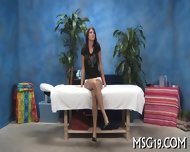 Tall Babe Strips In A Cute Way - scene 2