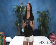 Tall Babe Strips In A Cute Way - scene 4