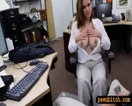 Foxy Busty Woman Fucked In The Backroom For Plane Ticket - scene 5