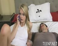 Teenie Loves Riding On Thick Shafts - scene 4
