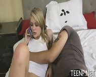 Teenie Loves Riding On Thick Shafts - scene 5
