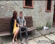 Hot Sex With Young Couple - scene 3