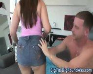 Bouncy Big Tit Ho Rammed - scene 5
