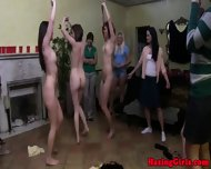 Hazed College Babes Forming Pyramid - scene 7