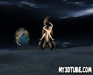 Foxy 3d Babe Gets Fucked By An Alien On The Moon - scene 4