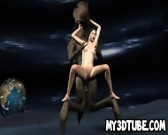Foxy 3d Babe Gets Fucked By An Alien On The Moon - scene 7