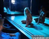 Jasmine Tame Strip Club Gang Bang Party! - scene 1