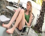 Chic Teen Swallows & Rides Cock - scene 1