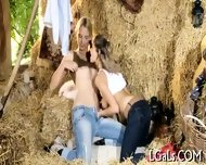 Lesbo Fun Of Teen Babes - scene 3