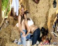 Lesbo Fun Of Teen Babes - scene 4